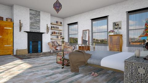 Contest OAK - Eclectic - Bedroom - by kitty