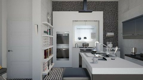 Mini kitchen - Modern - Kitchen - by milyca8