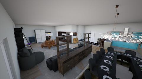 Party Studio - Classic - Living room - by KajsaRain
