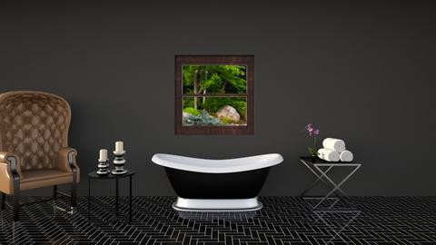 dark bathroom - Modern - Bathroom - by The vamps lover