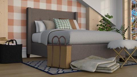 Autumn Checks - Country - Bedroom - by millerfam