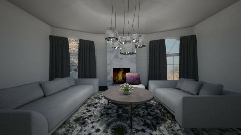 Grecia - Living room - by IkkaHe