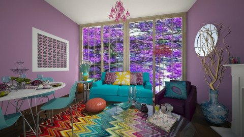 Jewelled - Living room - by xoxfranklinxox