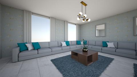 mr Rashid - Living room - by jollanian