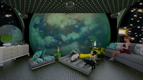 TitanUniverse - Modern - Living room - by lori gilluly