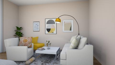 yellow 6 - Bedroom - by maritaaslamazashvili