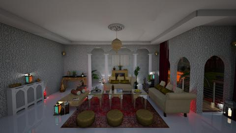 Arabic space - Glamour - Living room - by soralobo