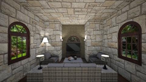 Retro Living Room - Retro - Living room - by Love2Create