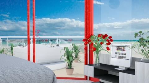 BeachHotel Closeup - Modern - Bedroom - by lori gilluly