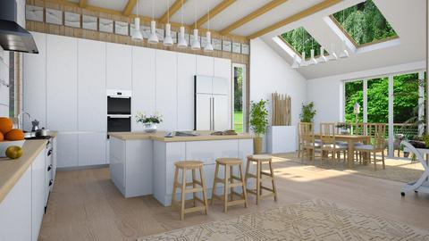 Design 415 Scandinavian Kitchen - Kitchen - by Daisy320