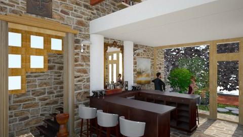 oldbankBAR - Eclectic - Living room - by russ