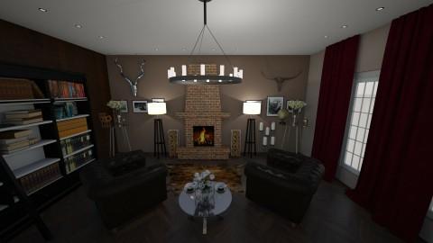 class - Classic - Living room - by lyub