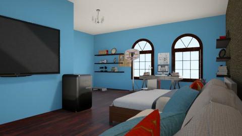 Teen Bedroom - Bedroom - by dionicholson60