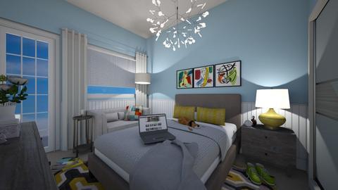 shawna - Bedroom - by rickglassinteriors