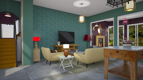 Merger  - Eclectic - Living room - by Tree Nut