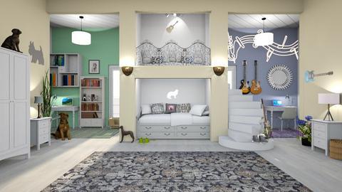 Bunk Bed Room - by Bren123