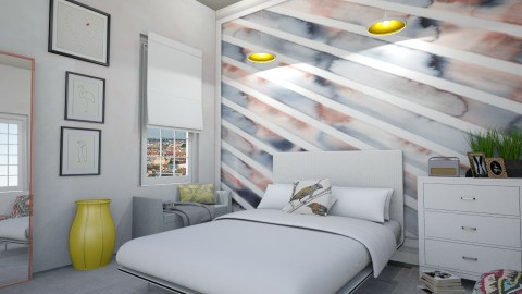 silke bonde print bedroom - by Ripley86