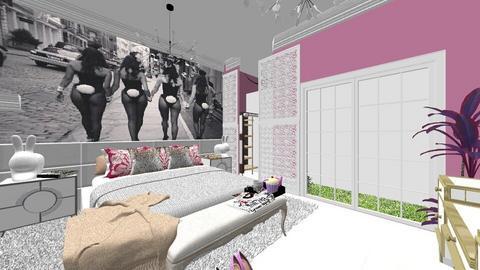 Girls Just Wanna Have Fun - Bedroom - by Nikki Lipstick