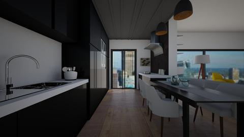 Minimal kitchen - Minimal - Kitchen - by Zosia Zakrzowska