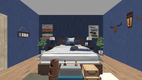 Isaac C - Modern - Bedroom - by senewby