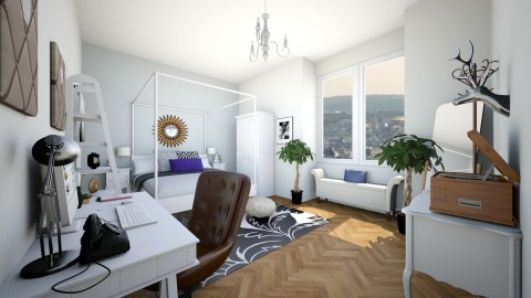 Paris Bedroom - Classic - Bedroom - by isabella11111