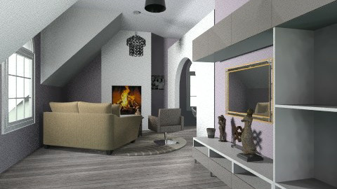 aparment living room - by Aluap