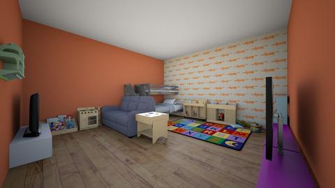 kids playroom - Kids room - by izzyluck18