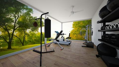 Dream Home_4th Floor_Gym - by ayeshxhoney
