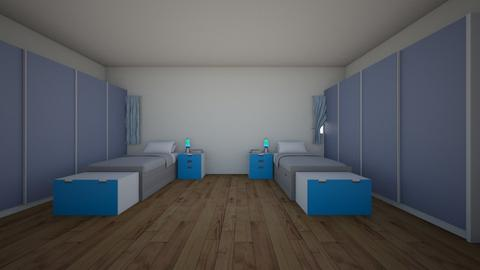 BOY BEDROOM - Kids room - by Jordin12
