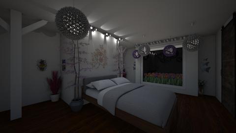 Meadow Bedroom - Modern - Bedroom - by udanielle12