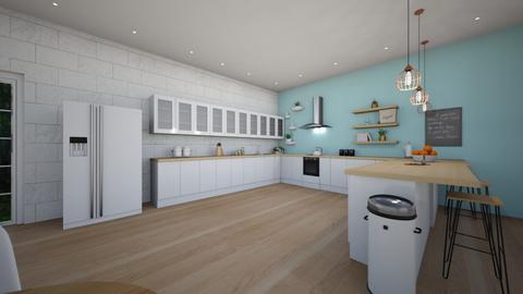 Zenovious Kitchen - Kitchen - by sierraibarra