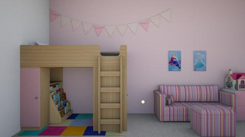 Little Girls Room - Kids room - by josielz