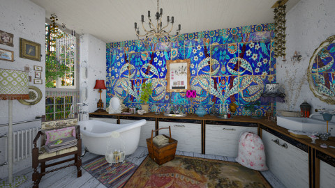 Love Boho - Eclectic - Bathroom - by evahassing