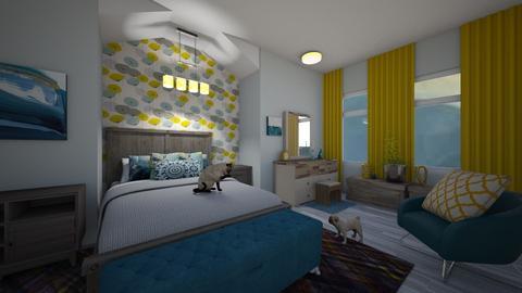 Teenager Bedroom - Bedroom - by PenAndPaper
