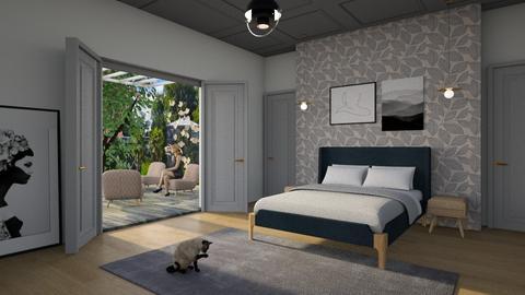 dark blue - Modern - Bedroom - by tolo13lolo