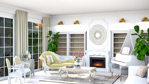 shabby chic living room - Living room - by _Miss_0_