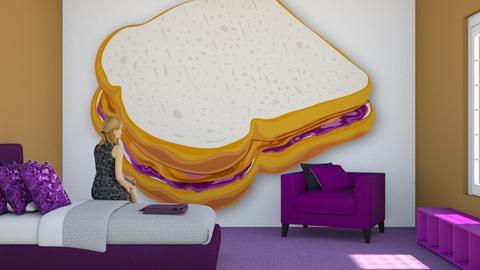 Peanut Butta Jelly - Bedroom - by RaeCam
