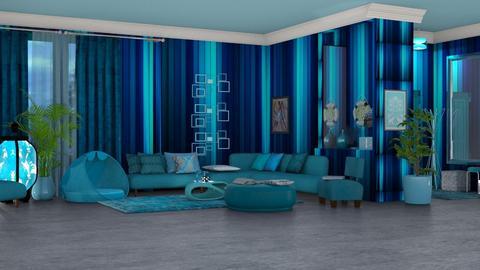 blue - by nat mi