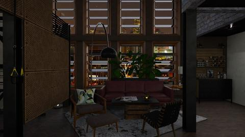 Loft 08 - Eclectic - Living room - by evahassing