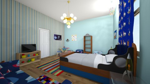 Brentley - Classic - Kids room - by Jessica Whittaker
