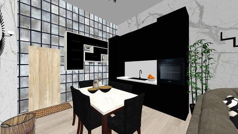 Edgy Living Room - Retro - Living room - by milliediamond