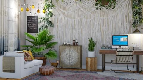 Boho Office 2 - Office - by lovedsign