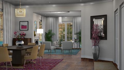 SLC 1st South - Living room - by GraceKathryn