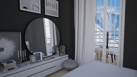 Sunlight  - Bedroom - by annagunbina3