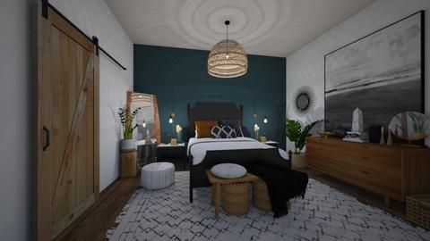 Tribal Navy - Bedroom - by Cara_Nicole