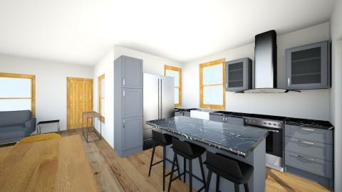 Bubu House Version 2 - Minimal - Living room - by deanasor