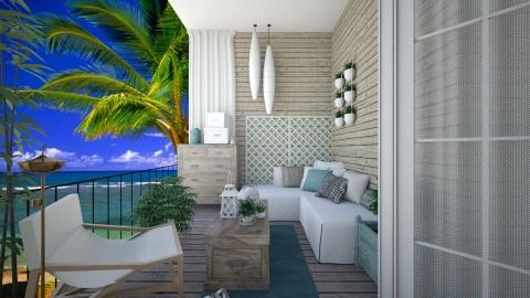 zee huis - Garden - by leger1234567890