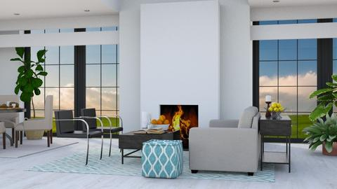 Modern Open - Modern - Living room - by millerfam