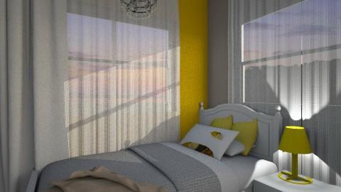 croatia bedroom yellow - Minimal - Bedroom - by leona11