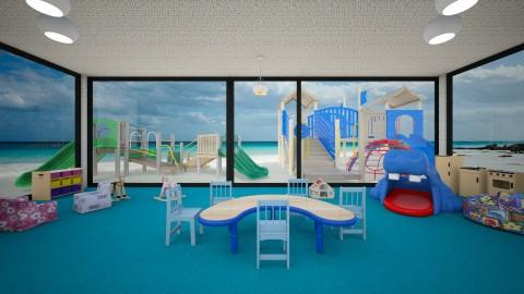 BeachBedroom - Minimal - Kids room - by lori gilluly